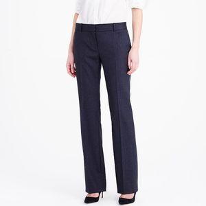 J Crew  Perfect Fit Pinstripe Trouser